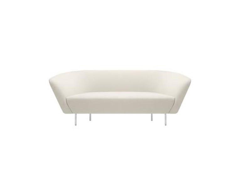 2 seater fabric sofa LOOP | 2 seater sofa by arper