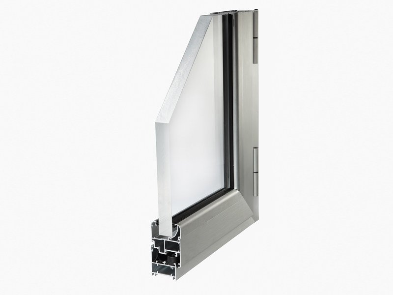 Aluminium window PLANET 45 by ALsistem