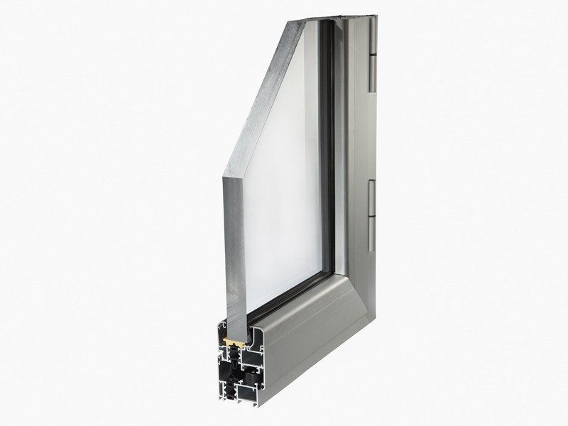 Aluminium thermal break window PLANET 50TT by ALsistem
