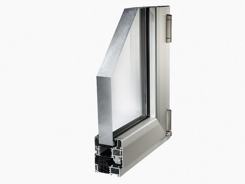 Aluminium thermal break window MATIC 72HT by ALsistem
