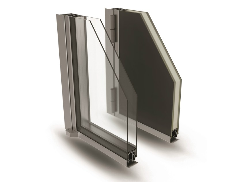 Aluminium patio door ELITE DOOR 72 by ALsistem