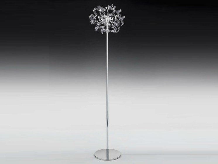 Crystal floor lamp ASTRO | Floor lamp by Metal Lux