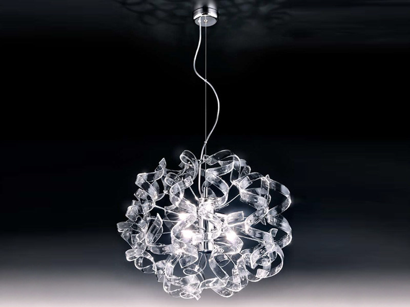 Crystal pendant lamp ASTRO   Pendant lamp by Metal Lux