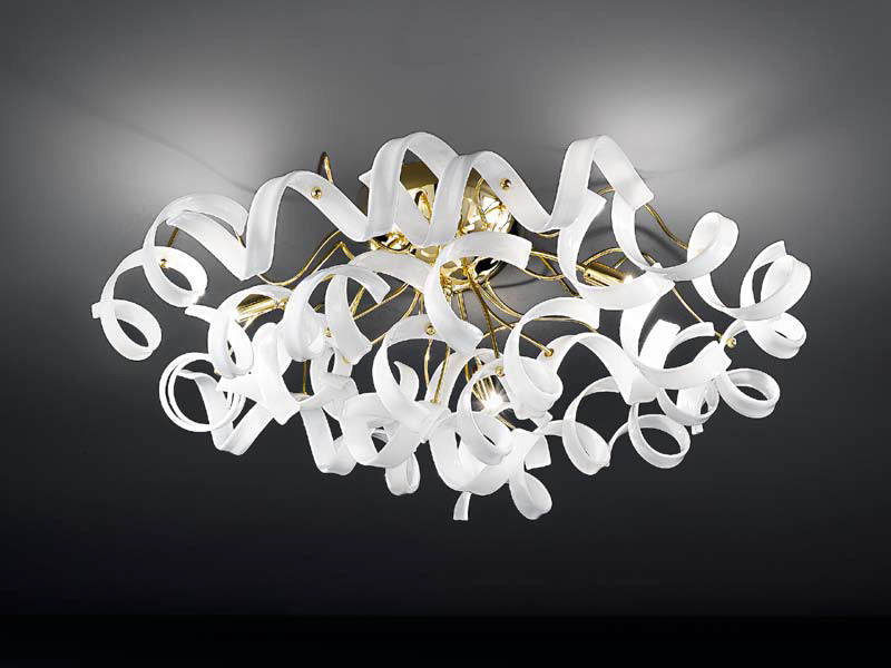 Crystal ceiling lamp ASTRO   Ceiling lamp by Metal Lux