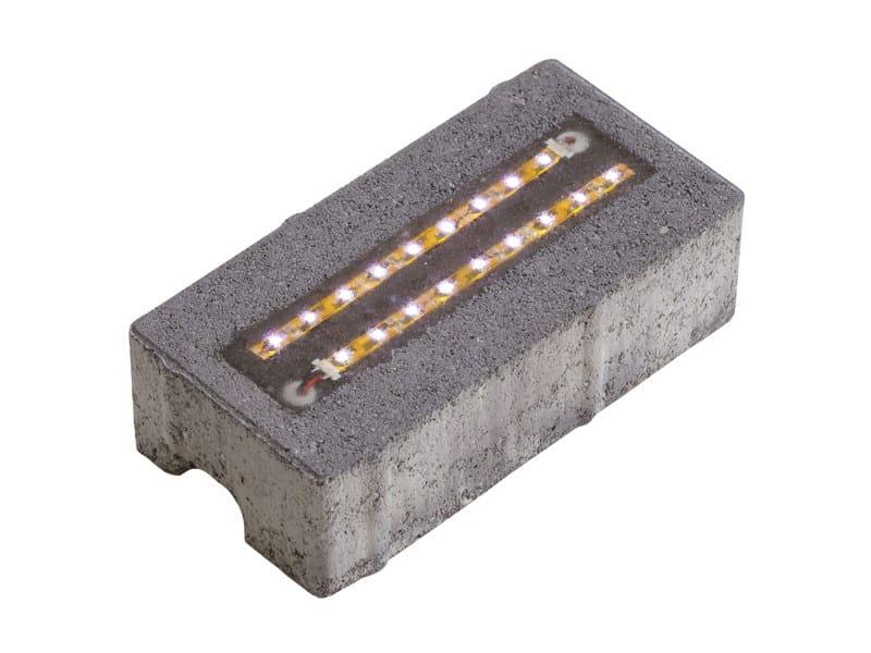 BETON_LED Elemento ad 2 LED acceso