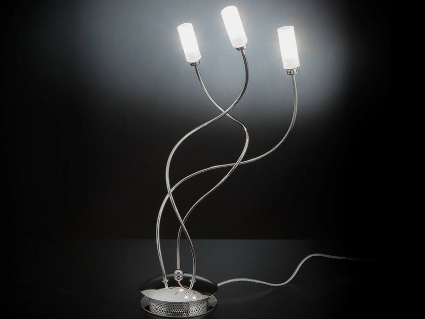 With swing arm chrome plated table lamp FREE SPIRIT | Table lamp by Metal Lux
