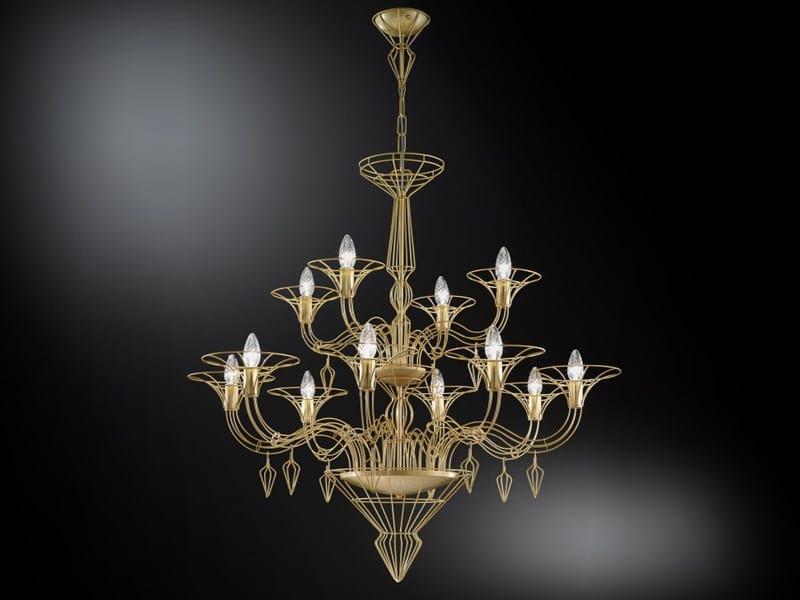 Metal chandelier DEDALO | Chandelier by Metal Lux