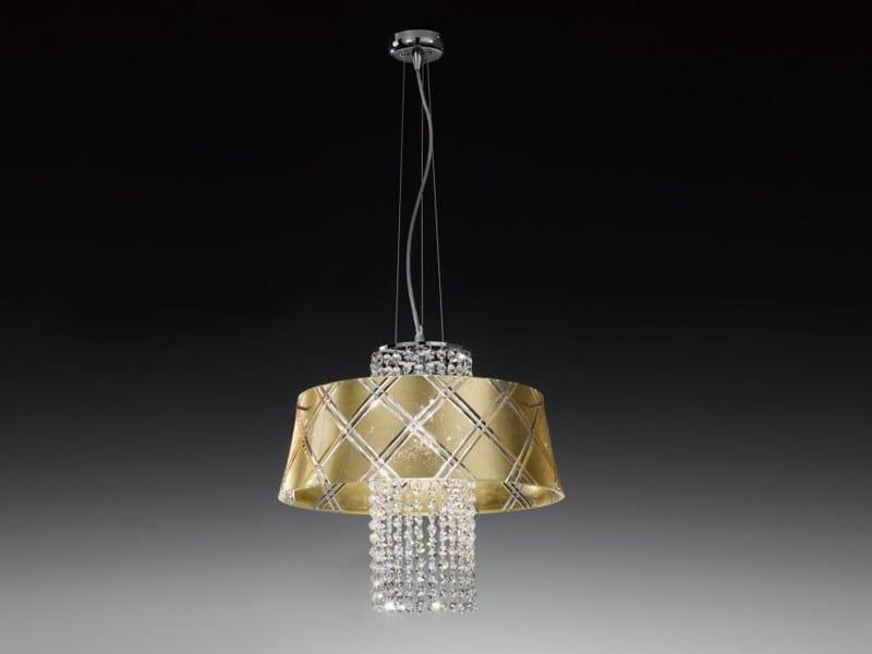 Gold leaf pendant lamp MEDUSA | Pendant lamp by Metal Lux
