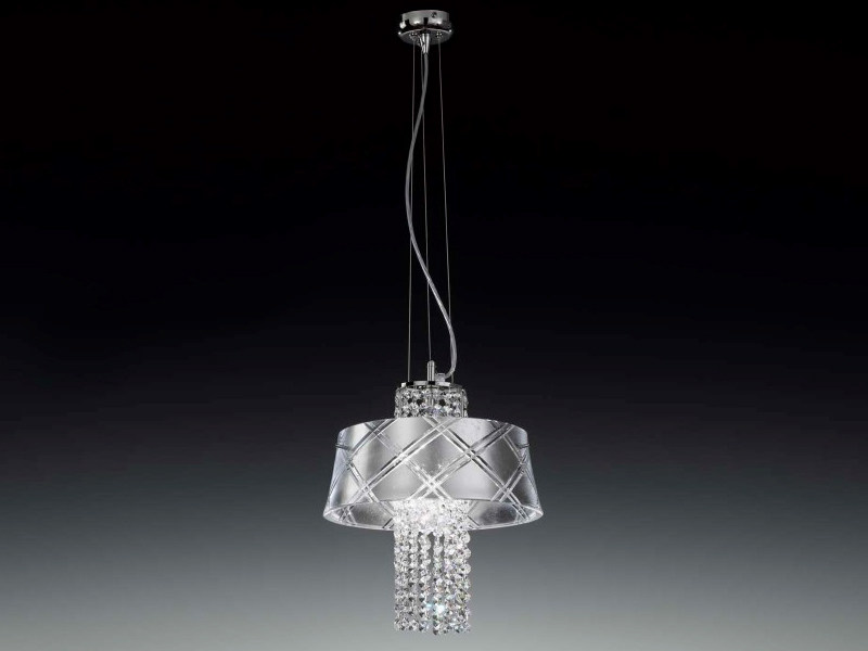 Silver leaf pendant lamp MEDUSA | Pendant lamp by Metal Lux