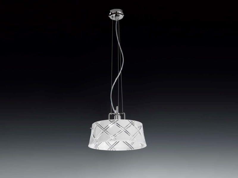 Glass pendant lamp CORALLO | Pendant lamp by Metal Lux