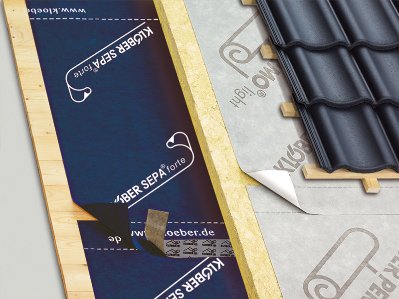 Vapour barrier for roof SEPA® FORTE by KLÖBER ITALIA