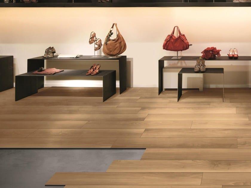 AEXACTA | Pavimento autoposante Sistema Æxacta con pavimento Life effetto legno