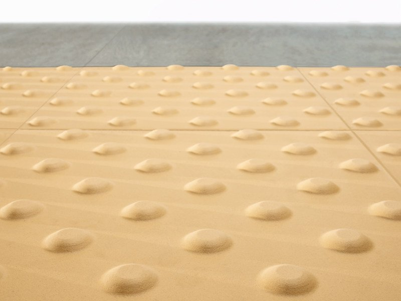 Porcelain stoneware Tactile paving SAFETY by Ceramiche Caesar