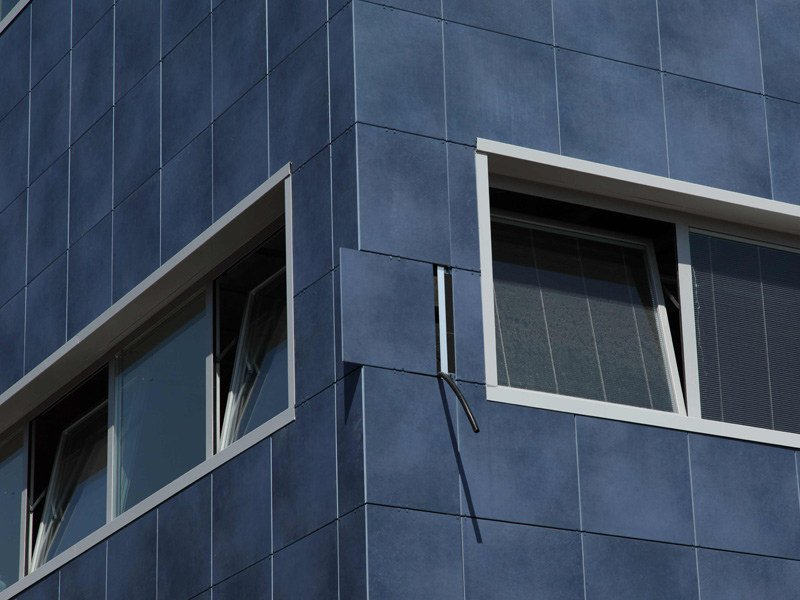Ventilated facade Parete ventilata by Ceramiche Caesar
