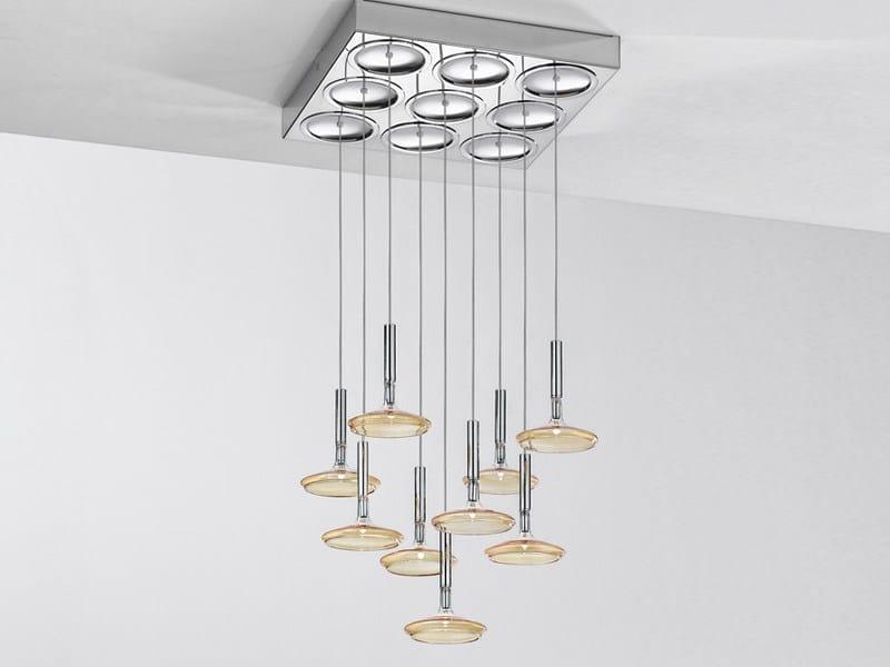Pyrex® pendant lamp CAPRICCIO | Pendant lamp by Metal Lux