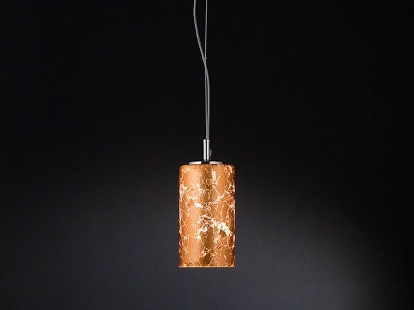 Copper leaf pendant lamp BRICK | Pendant lamp by Metal Lux