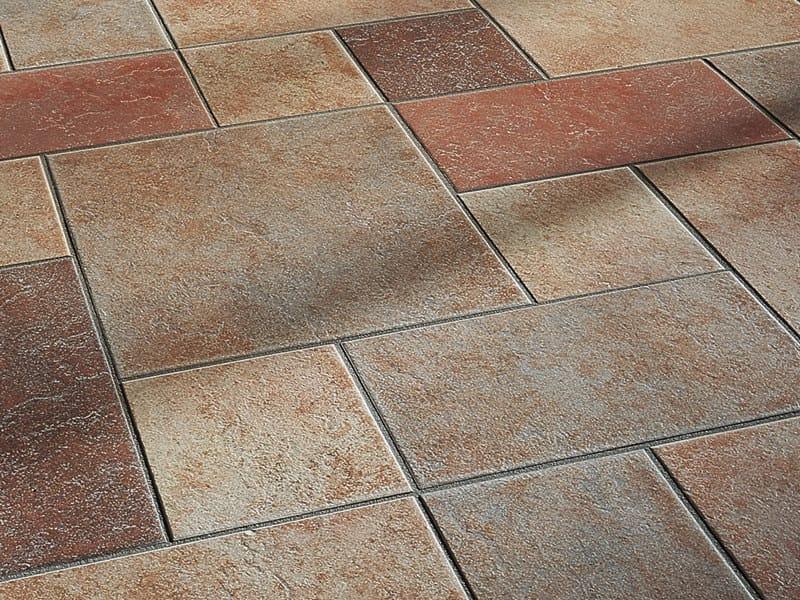 Pavimento/rivestimento ignifugo in gres porcellanato vetrificato AGORA' by Casalgrande Padana