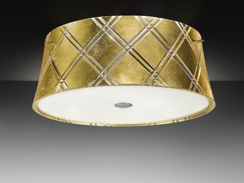 Gold leaf ceiling light CORALLO | Ceiling light by Metal Lux