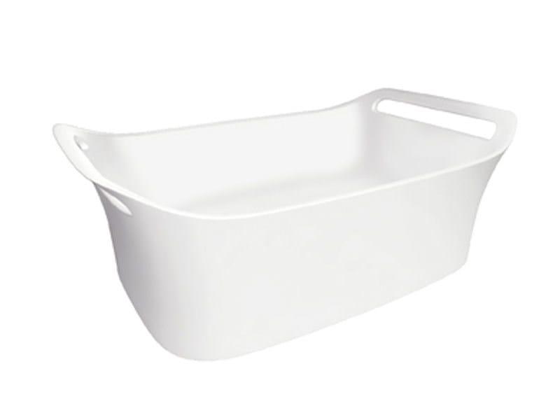 Countertop washbasin with towel rail AXOR URQUIOLA | Washbasin by Axor