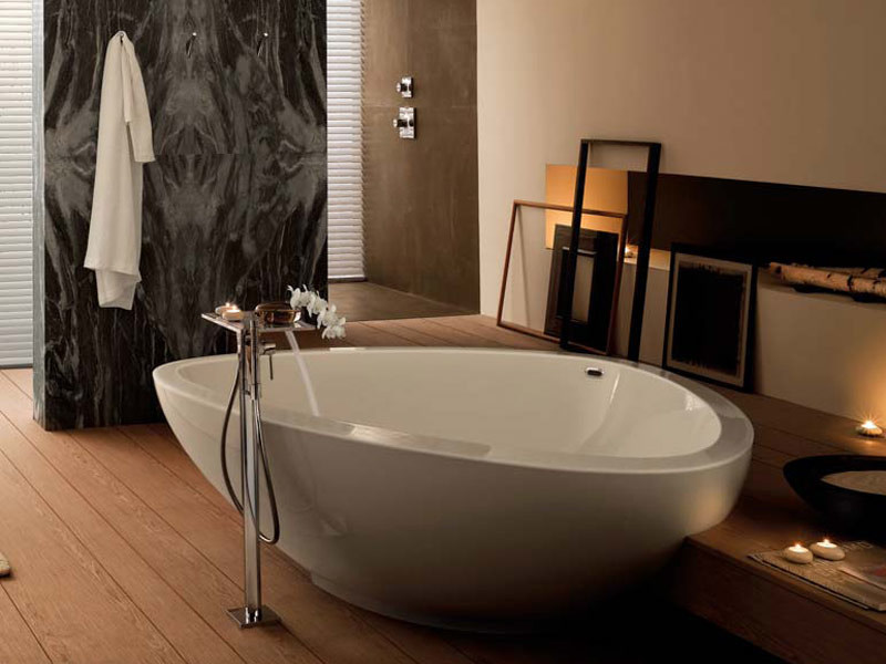 AXOR MASSAUD | Bathtub By hansgrohe design Jean-Marie Massaud