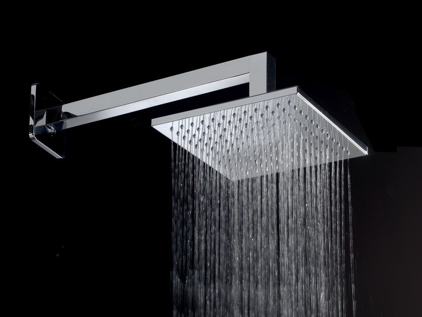 Overhead shower with arm SOLAR   Overhead shower with arm by Graff Europe West