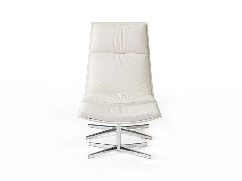 Soft 4 ways CATIFA 70 | Upholstered armchair by arper