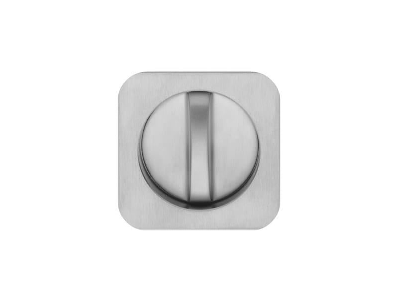 Recessed brass door handle EBOLI by i-DESIGN