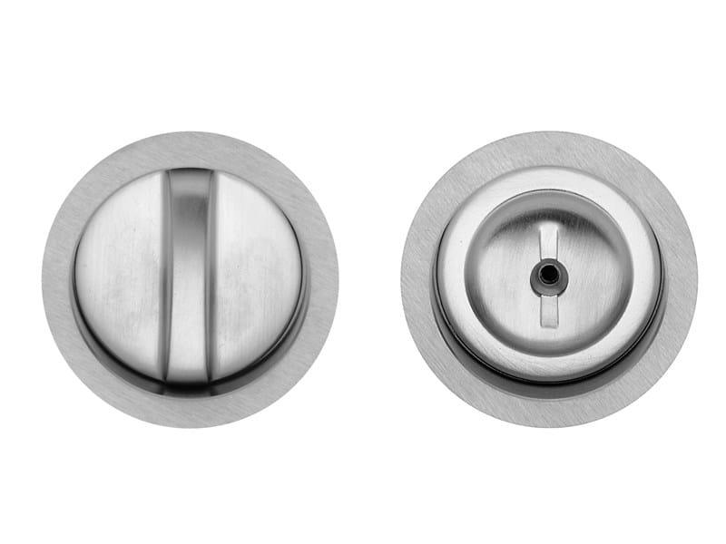 Recessed brass door handle AGROPOLI by i-DESIGN