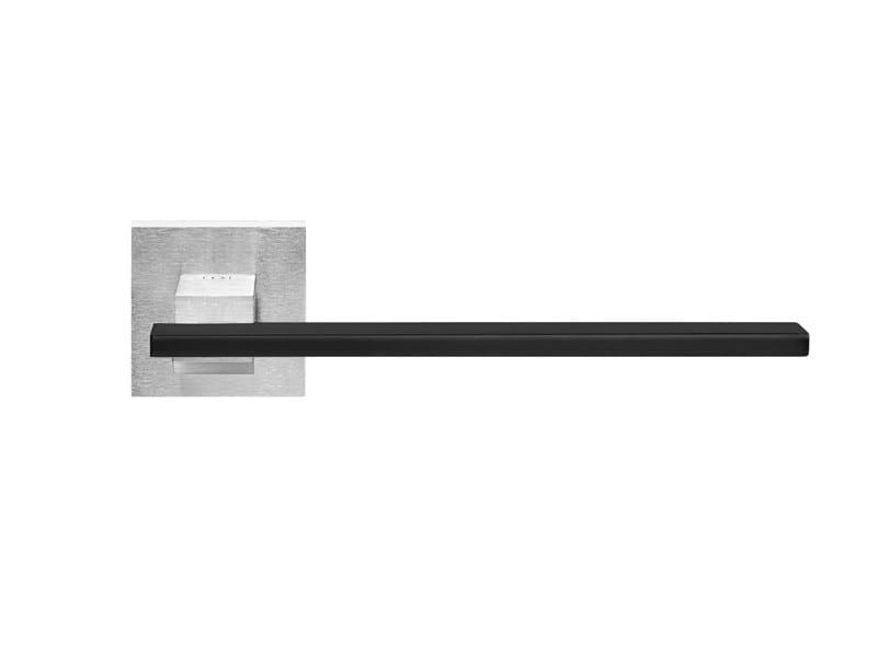 Contemporary style brass door handle MILANO | Door handle by i-DESIGN