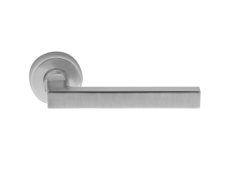 Contemporary style brass door handle POMPEI by i-DESIGN