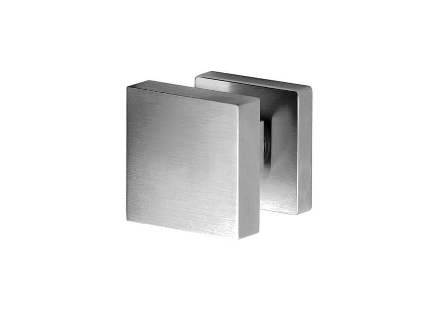 Contemporary style brass door knob VOLTERRA by i-DESIGN