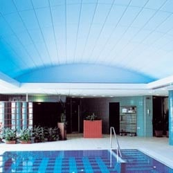 Acoustic mineral fibre ceiling tiles ACUSTICA SUPERFICI by Knauf Amf