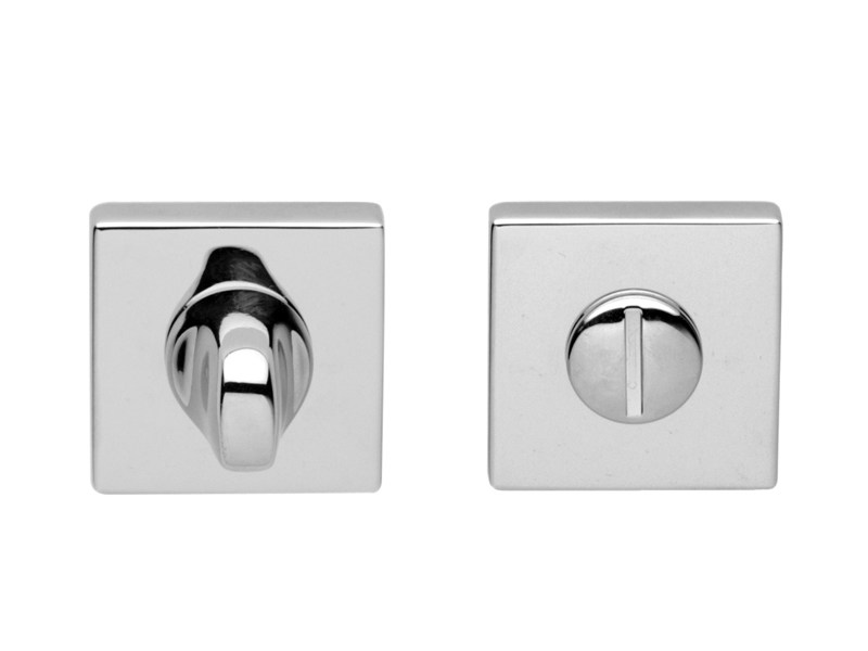 Brass WC turn PRIVACY SET quadra by i-DESIGN