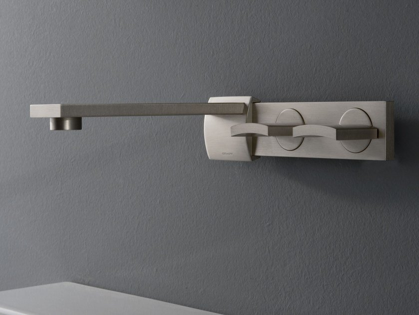 Wall-mounted washbasin tap TARGA | Wall-mounted washbasin tap by Graff Europe West