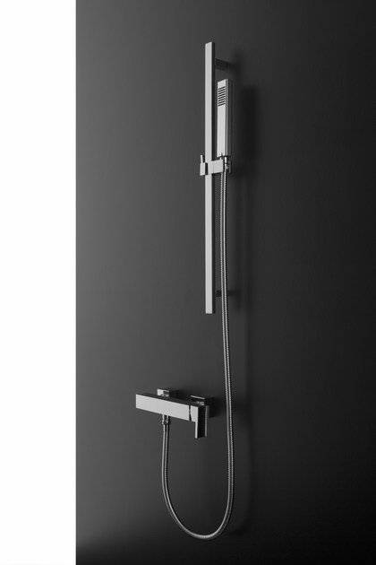 Shower wallbar with hand shower with mixer tap SADE | Shower wallbar by Graff Europe West