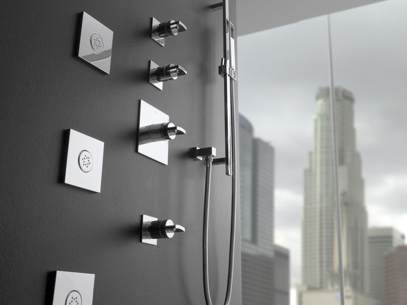 Shower mixer with hand shower SADE | Shower mixer with hand shower by Graff Europe West