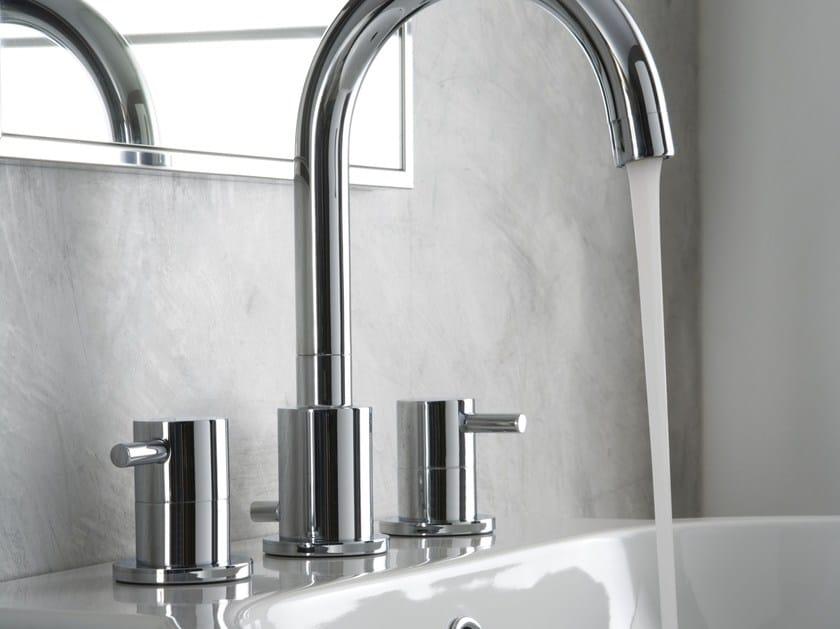 3 hole countertop washbasin tap M.E. | Washbasin tap by Graff Europe West