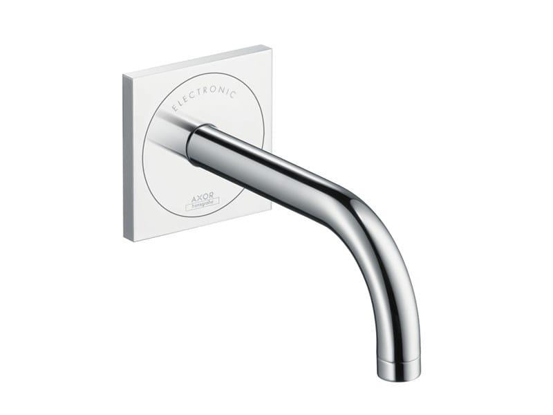 Wall-mounted electronic washbasin mixer AXOR UNO² | Washbasin mixer by hansgrohe