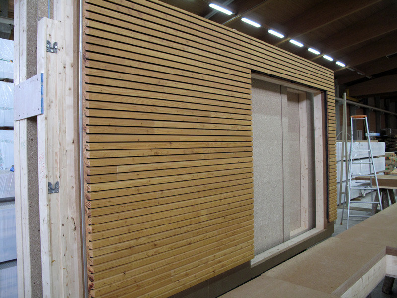 Pannello in legno per facciate OPENLAM® - Simonin
