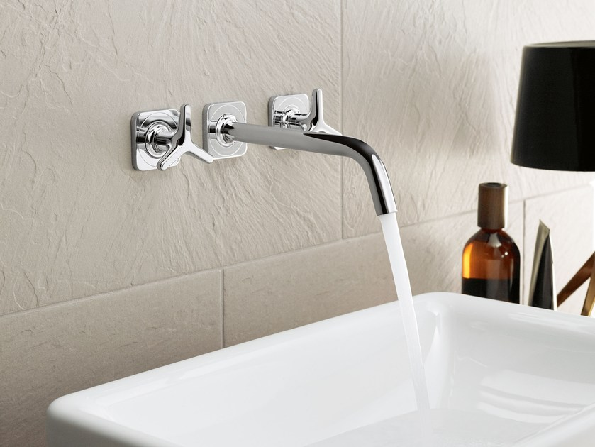 3 hole wall-mounted washbasin tap AXOR CITTERIO M | Washbasin tap by hansgrohe