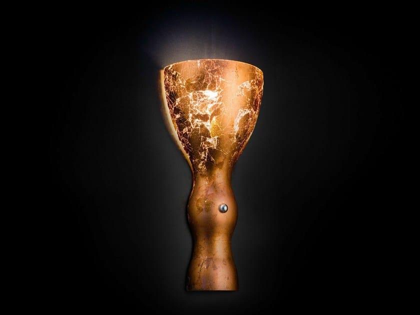 Copper leaf wall light SCHERZO | Wall light by Metal Lux