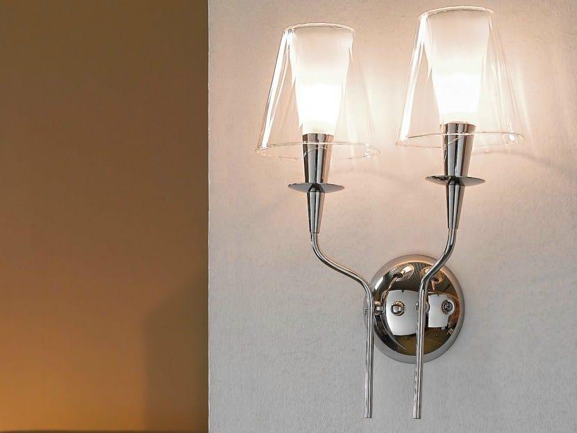 Pyrex® wall light OPERA   Wall light by Metal Lux