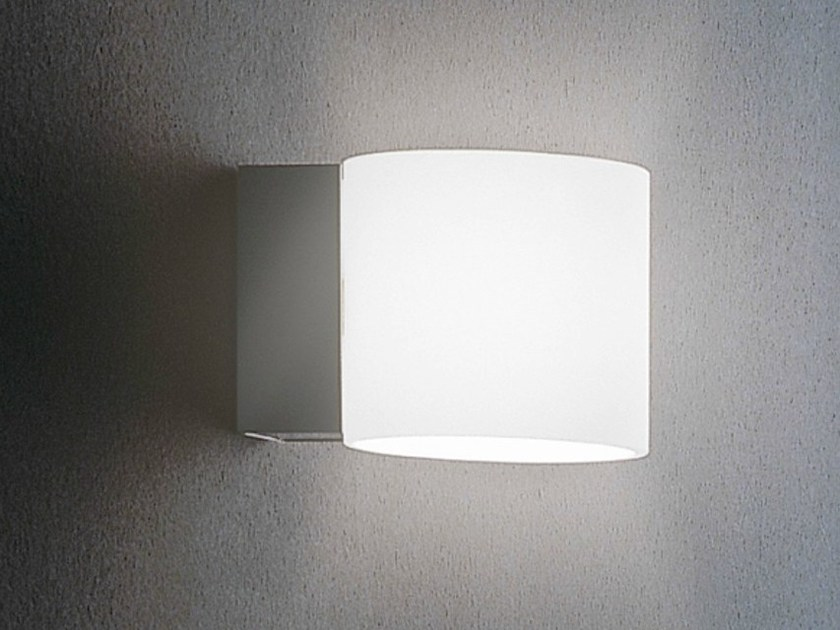 Glass wall light BRICK | Wall light by Metal Lux