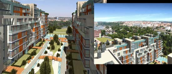 MicroStation River Diamond Residence - Safer Hajek Architekti, s.r.o.