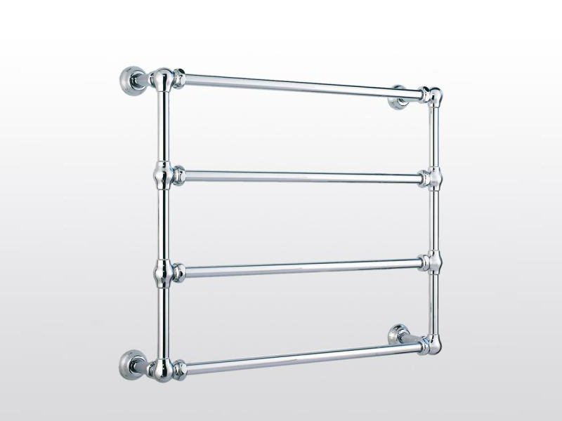 Wall-mounted chrome towel warmer Towel warmer by RUBINETTERIE STELLA
