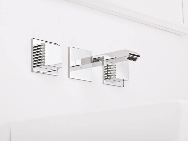 3 hole wall-mounted washbasin tap CASANOVA 3868TR by RUBINETTERIE STELLA