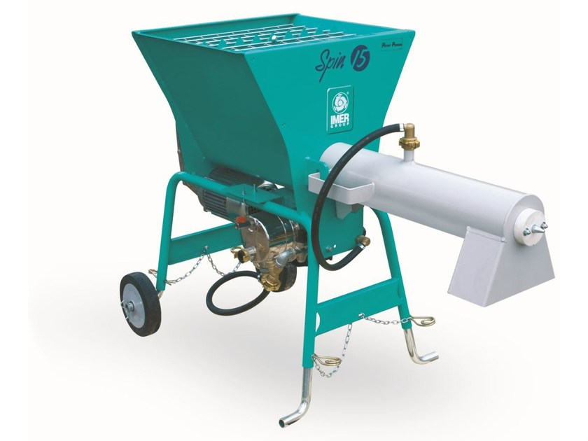 Mixer and transporter SPIN by IMER INTERNATIONAL