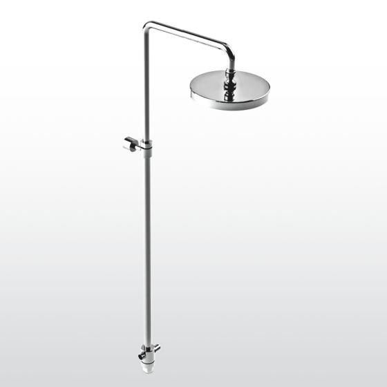 Shower panel with overhead shower Shower panel with overhead shower by RUBINETTERIE STELLA