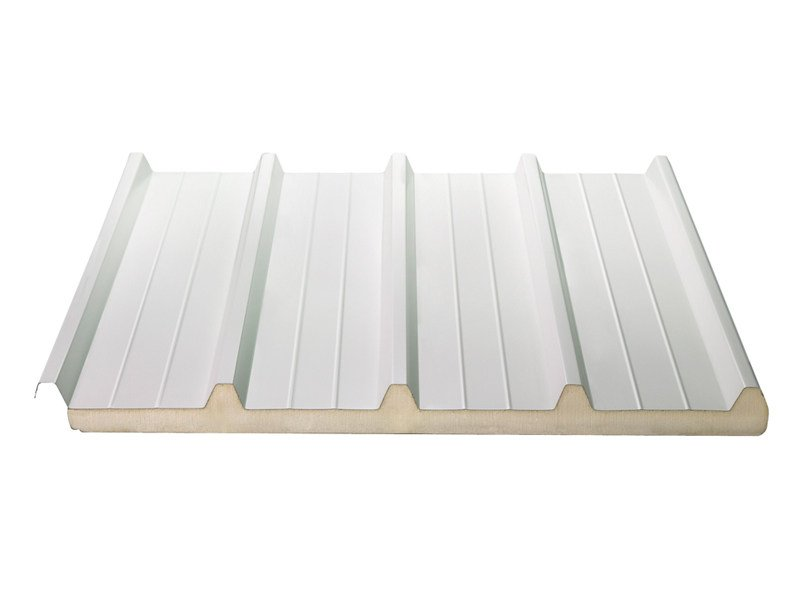 Insulated metal panel for roof ISODECK 40 1000 by ISOPAN