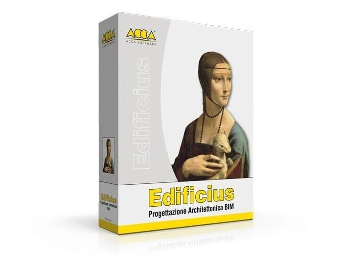 Progettazione architettonica BIM Edificius by ACCA software